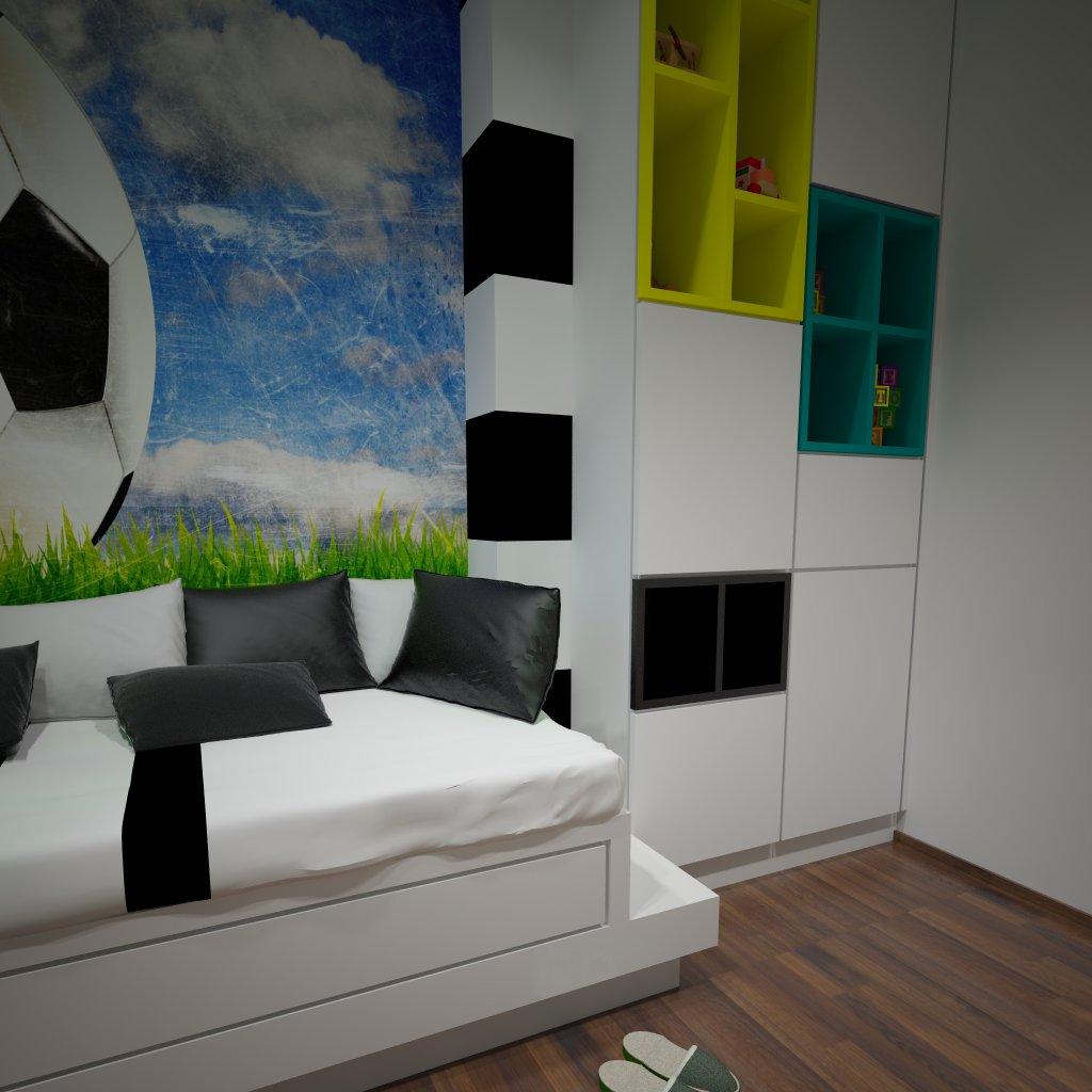 projektowanie pokoi dziecięcych wejherowo