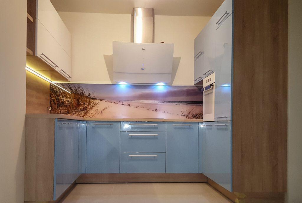 czym wykończyć ścianę w kuchni