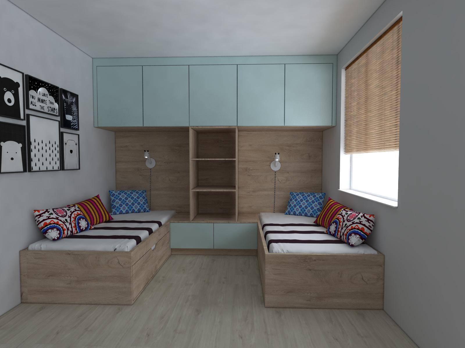 projektowanie pokoi dziecięcy Wejherowo