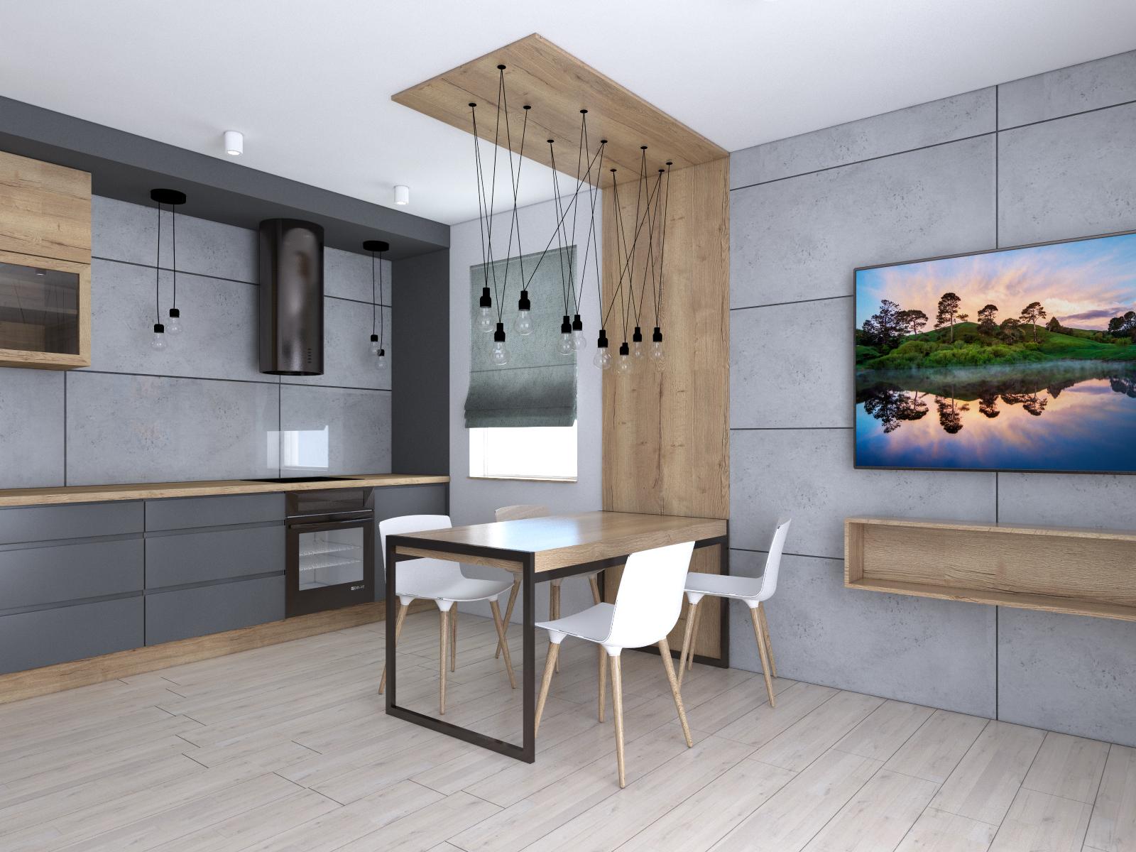 Szare Meble W Kuchni Im Wnętrza Projektowanie Wnętrz