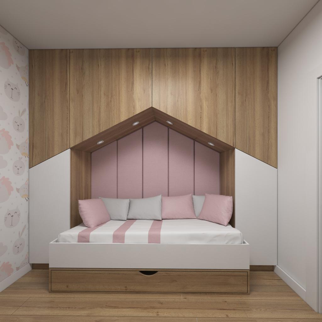 Mały pokój dla dziewczynki