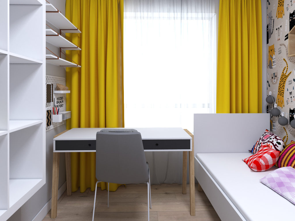 projektowanie pokoi dziecięcych warszawa