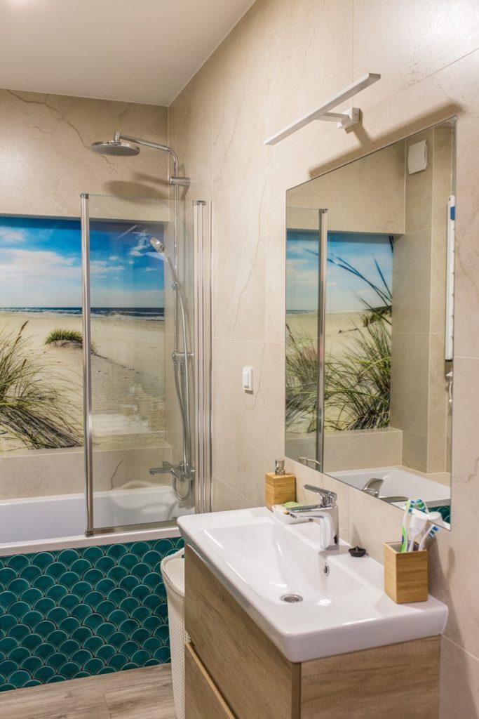 łazienka w morskim stylu