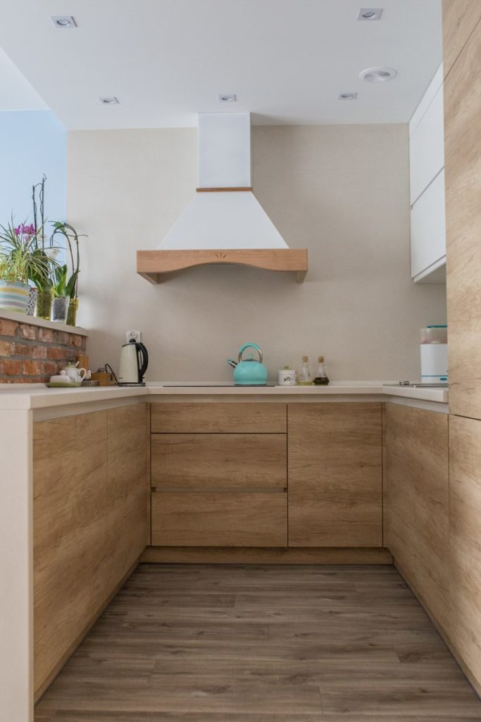panele winylowe w kuchni