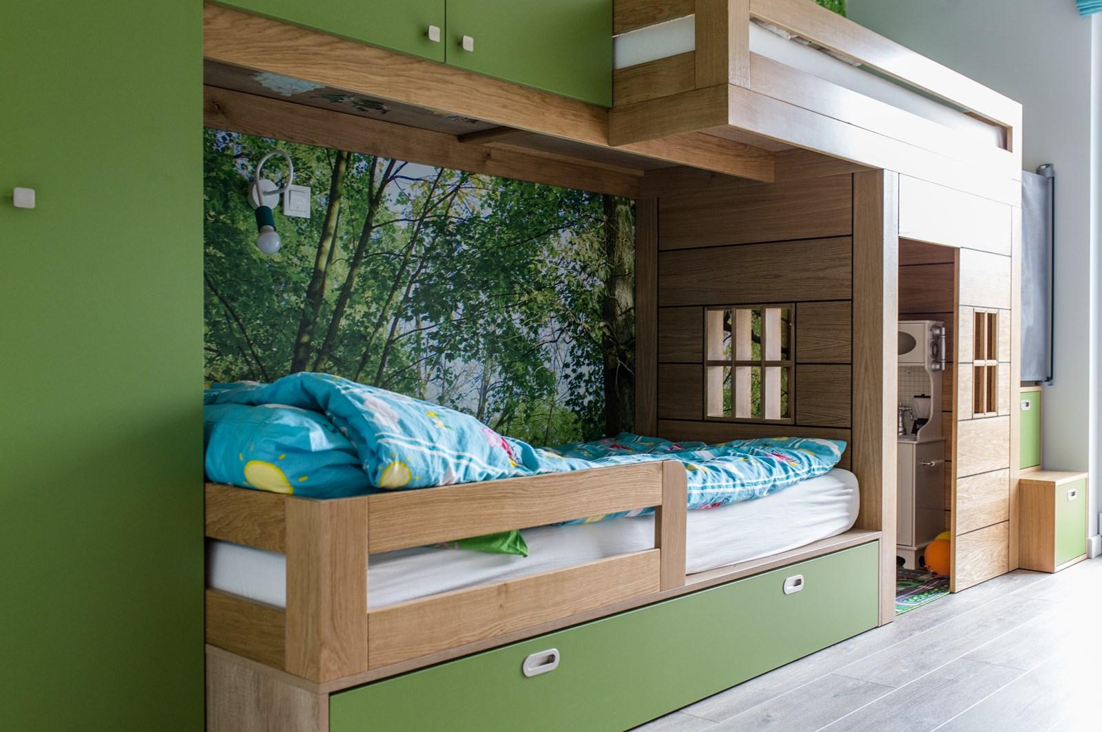 leśny pokój dla dzieci