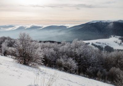 Bieszczady zimą, sylwester w Bieszczadach