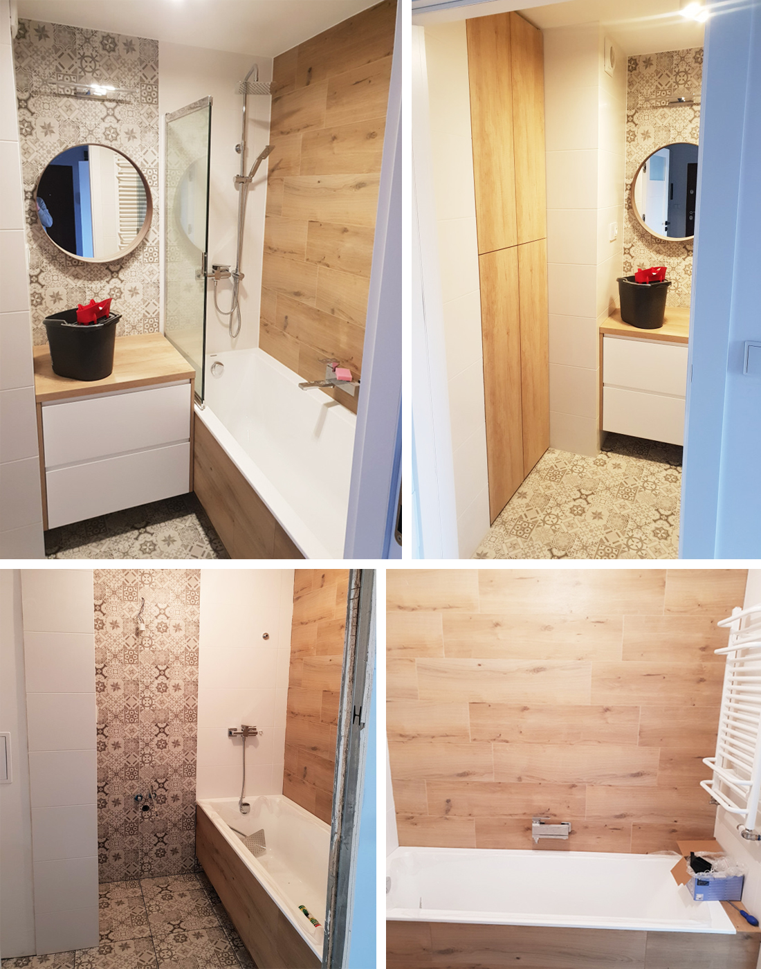 projekt łazienki w bloku
