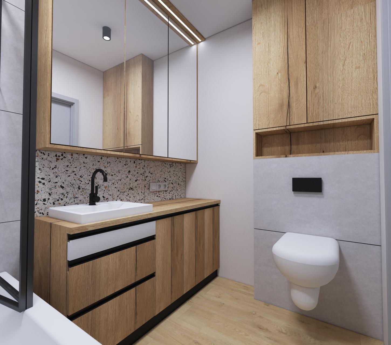 panele winylowe w łazience