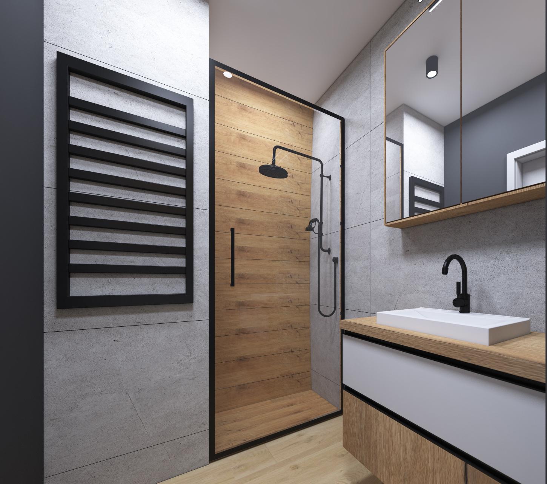 Łazienka w męskim stylu